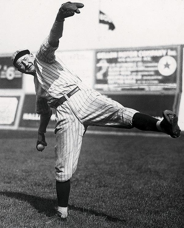 Vance didn't even play his first full season until he was 31, in 1922, but still pitched long enough to win 197 games. The 1924 NL MVP, Vance finally gained election with 81.7 percent of the vote in 1955.
