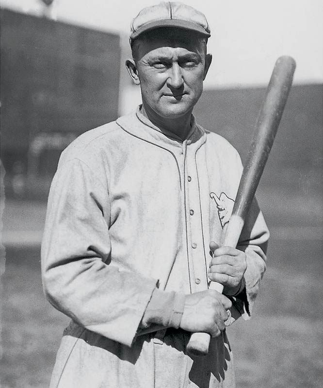 The leading vote-getter in the Hall's inaugural class, Cobb set nearly 100 records during his playing days, including most career runs, hits, stolen bases and games played. He still holds the record for highest career average (.367) and most career batting titles (12).