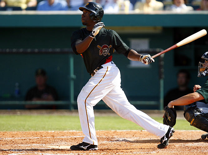 The Pirates top-rated prospect, McCutchen combines great speed and good power. In four minor league seasons, he has stolen 95 bases, including 34 in 2008 at AAA Indianapolis. He also batted .283, and hit nine home runs.