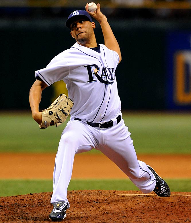 Price, a hard-throwing lefty, received plenty of attention during Tampa Bay's run to the World Series, but he didn't actually debut with the Rays until mid-September, and wound up pitching as many times in the regular season (five) as he did in the postseason. In the minors, he went 12-1 with a 2.30 ERA and is expected to join the Rays' rotation this season.