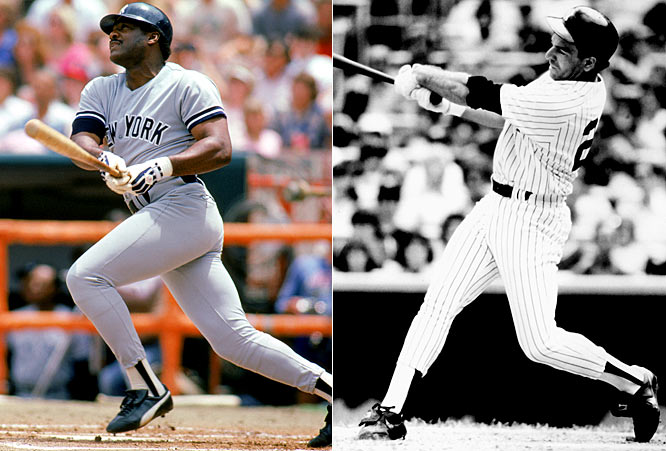 For 1983: <br>Trying to bulk up an anemic lineup, the Yankees sign heavyweight slugger Don Baylor for four years at $3.7 million, and former Tigers rightfielder Steve Kemp for five years at $5.45 million.