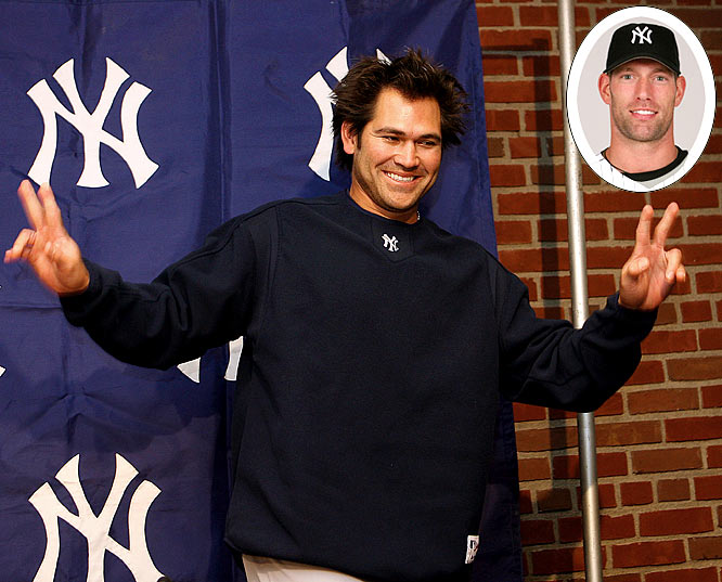 For 2006: <br>Boston is outraged as World Series hero Johnny Damon defects to the Bronx and a four-year, $52 million deal. Seeking a set-up man for closer Mariano Rivera, the Yankees hand the erratic Kyle Farnsworth a three-year pact worth $17 million.