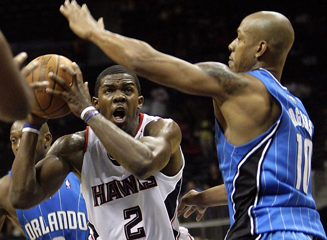 This is the first of two meetings this week for the top two teams in the Southeast Division. The Hawks are 15-2 at home while the Magic began the week with an NBA-high 12 road victories. Atlanta won at Orlando in the season opener, getting 25 points from Joe Johnson and limiting the Magic to 36.8 percent shooting overall and 16.0 percent (4-of-25) from three-point range.