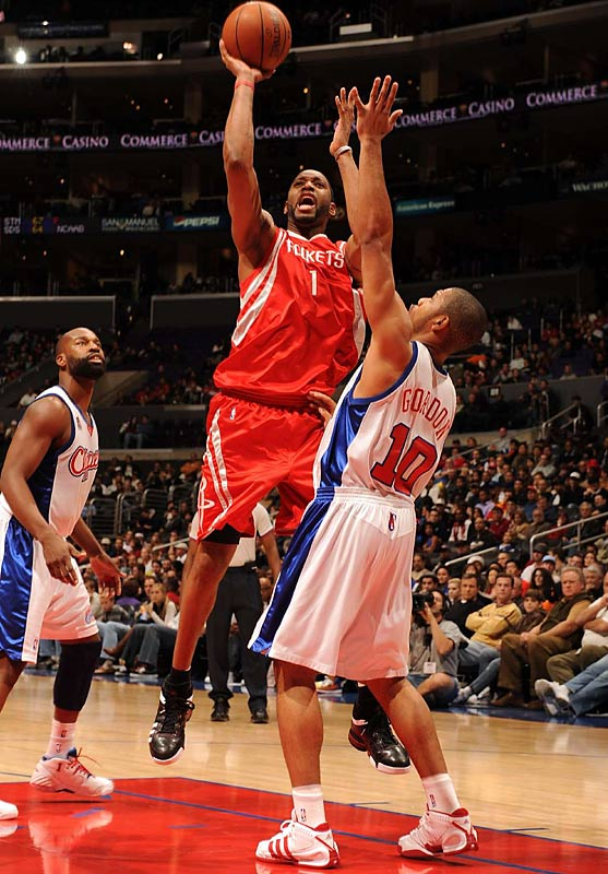 As always, Houston's health will be a major factor in determining how compelling this matchup becomes. Tracy McGrady (knee), Ron Artest (ankle) and Shane Battier (foot) have all missed time on the Rockets' current four-game road trip. Because of injuries, coach Rick Adelman used 12 different starting lineups in Houston's first 35 games.