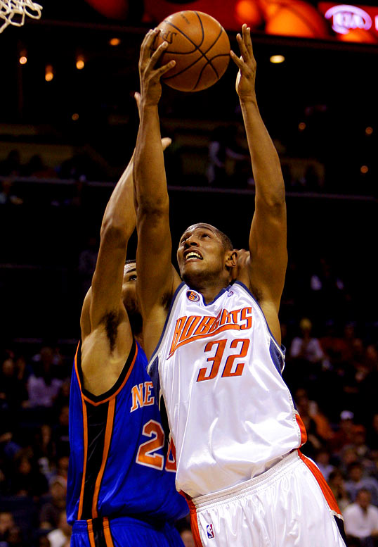 The teams meet for the first time since Charlotte dealt Jason Richardson to Phoenix for Boris Diaw and Raja Bell, two players who weren't thrilled playing for first-year Suns coach Terry Porter. Diaw, in particular, has benefited from the trade, averaging 13.8 points, 6.7 rebounds and 5.2 assists in his first 17 games with the Bobcats, who are 9-8 in those contests.