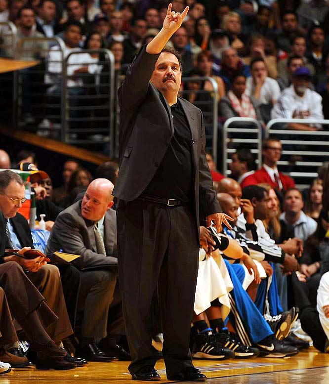 Stan Van Gundy has done just fine since leaving the Miami bench in the middle of the 2005-06 season (after which Pat Riley took over and led the Heat to the NBA title). Van Gundy won 52 games last season -- his first with Orlando -- and reached the second round of the playoffs. Now he's overseeing a team that is turning into a bona fide championship contender.
