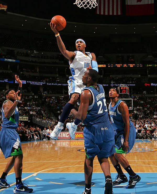 Carmelo Anthony has targeted this game for his return from a broken hand. Denver went 5-3 in its first eight games without Anthony, the team's leading scorer and a strong candidate to be selected as a reserve to the All-Star Game.