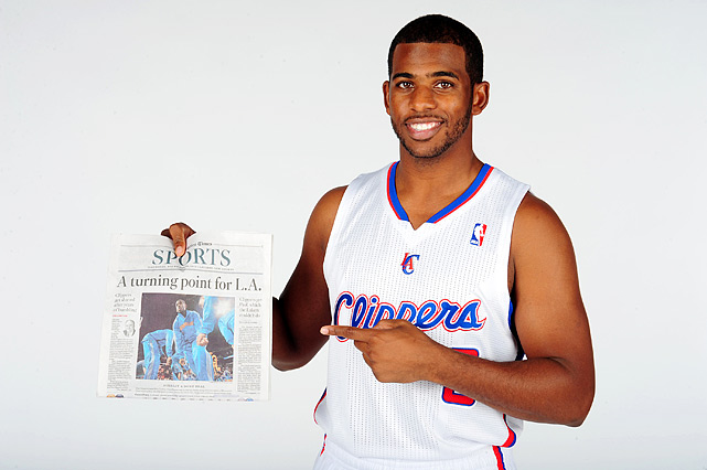 "On the eve of the start of training camps after the 2011 lockout, the league-owned Hornets agreed in principle to a three-team trade to send Chris Paul to the Lakers. But Stern stunningly stepped in and vetoed the trade for ''basketball reasons"" amid reports that owners had pressured the league to block the departure of another superstar from a small market to a big market. Paul did end up in Los Angeles after all -- but with the Clippers, who finalized a trade for the point guard less than a week later."