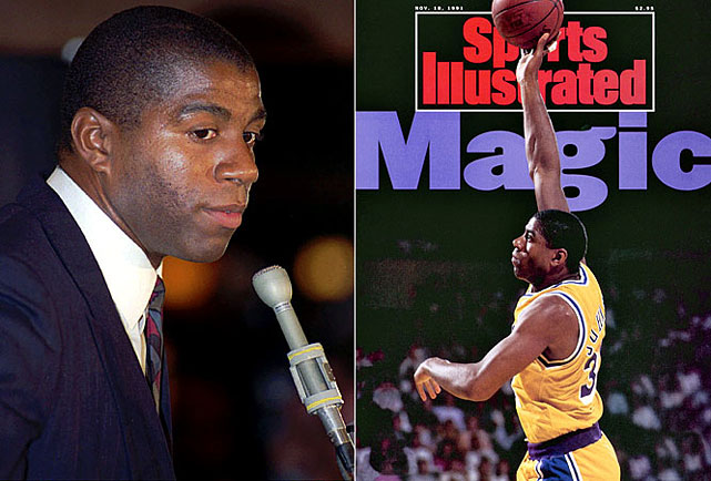Most NBA fans age 25 or older can tell you precisely where they were on Nov. 7, 1991, when they heard the news that Magic Johnson had tested positive for the HIV virus and had retired immediately. Stern, too, has called it one of his darkest days as commissioner, though he beat back fears from players about participating against HIV-positive opponents and deemed Johnson eligible to play in the 1992 All-Star Game.