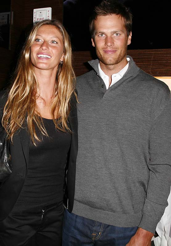 So apparently Tom Brady and Gisele aren't engaged, well, yet anyway. I'm guessing it'll only be a matter of time at this point. He's going to need something to plan for if another surgery keeps him out of football for another year.