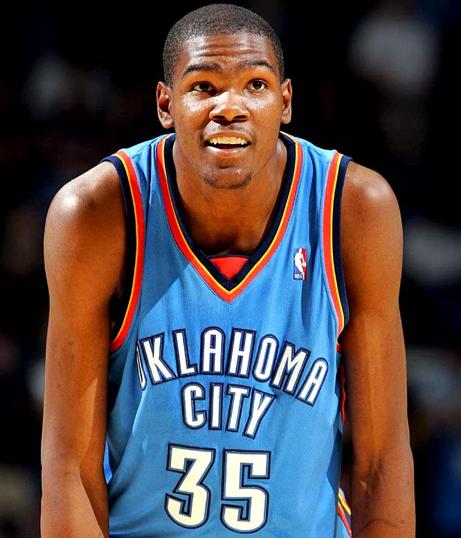 """The Cartoon Network will use Kevin Durant and four other NBA players, including Deron Williams and Ray Allen, in a promotional spot for the animated channel. It was a treat for Durant, who said, """"I'm a big kid myself."""" When asked what kind of cereal he eats, Durant said, """"Fruity Pebbles and Trix."""" Ah yes, the breakfast of champions."""