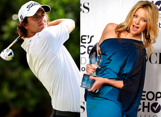It's rare that we have the same starlet on the same list and linked to another athlete, but Kate Hudson seems to be taking over for Alyssa Milano now that she's engaged. Hudson was seen canoodling with Adam Scott at the Ritz-Carlton Maui. The Aussie golfer and the actress are reportedly an item and spent the weekend at Kapalua. At least Hudson, who was linked with Lance Armstrong as well, isn't stuck on one sport. I fully expect to write about her exploits with a quarterback or point guard within the month.