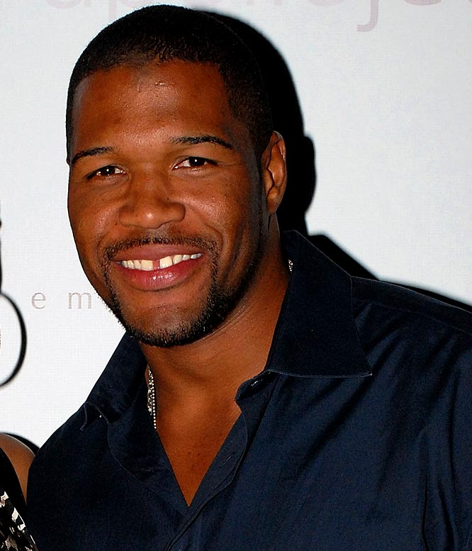 "Strahan is expanding his role as a television personality, agreeing to host the fourth season of ""Pros vs. Joes"" on Spike TV. Before he does that, Strahan will be hosting a Super Bowl party Saturday night with Kevin Costner. I'm not sure which one shows he's jumped the shark more."