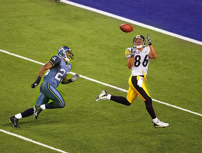 Wideout Hines Ward took home MVP honors after catching five passes for 123 yards and one touchdown.