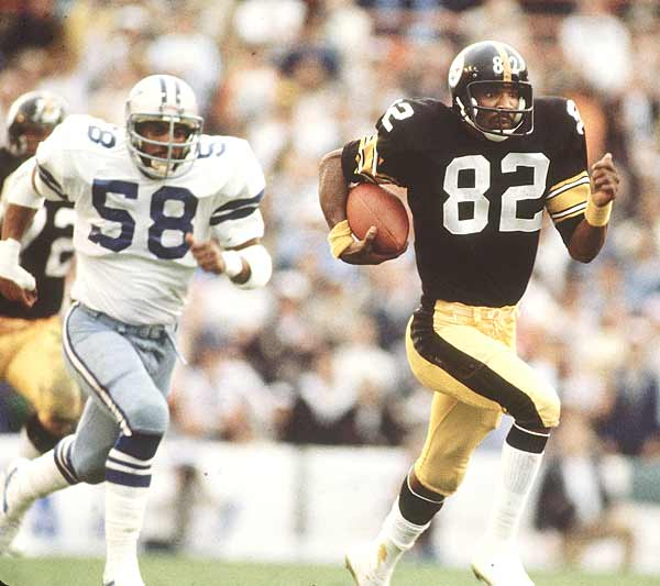 John Stallworth led the Steelers' charge with 115 receiving yards and two touchdowns.