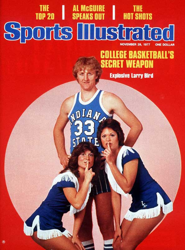Larry Bird was still a relative no-name when he appeared on the SI Cover for the first time. He would go onto grace the cover 14 more times in his career as a player, coach and executive.