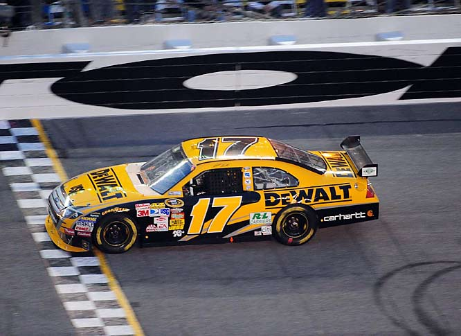 "The 2003 series champion, Matt Kenseth cruised across the finish line under a yellow flag to win the 51st Daytona 500. ""I tell you what, after last year, winning a race means a lot to me,"" Kenseth said."