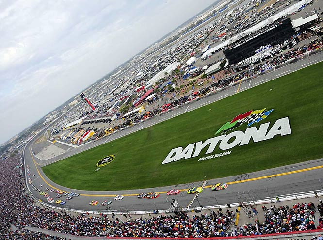 The 51st running of the Daytona 500 kicked into action Sunday with pole-sitter Martin Truex, Jr. leading the way. He was joined in the race by a deep field that included 2008 champion Ryan Newman and Joey Logano, who at 18-years old, was the youngest starter in the race's history.
