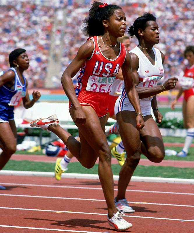 One of the greatest female sprinters in history, Ashford overcame injuries early in her career to become the first and only woman in U.S. track and field history to win four Olympic gold medals: in the 100 meters at the '84 Olympics and in the 4x100 relay in '84, '88 and '92.  Worthy of consideration: Seimone Augustus, Alana Beard, Pamela Kelly-Flowers and Kim Mulkey.