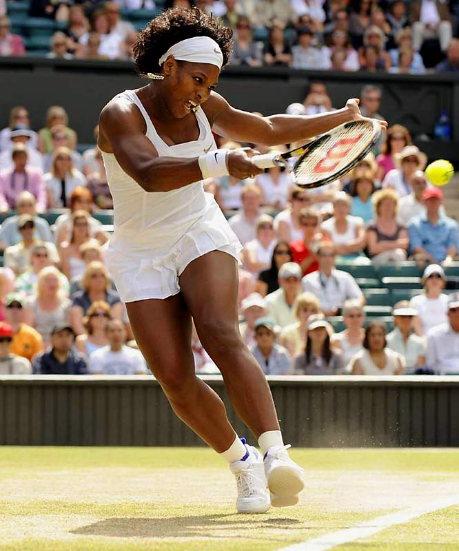 Williams ranks among the premier players of her generation, having won 13 Grand Slam singles titles and Olympic gold in doubles in 2000 and 2008. She held all four Grand Slam titles simultaneously at one point -- winning the French Open, Wimbledon and the U.S. Open in 2002 and the Australian Open in 2003.  Worthy of consideration: Lynn Hill, Julie Krone, Marion Ladewig and Dawn Riley.