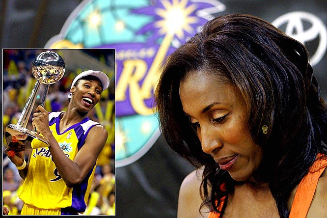 One of the cornerstones of the WNBA since its founding in 1997, Lisa Leslie retired after the 2009 season. A three-time WNBA MVP and four-time Olympic gold medalist, Leslie helped guide the LA Sparks to WNBA championships in 2001 and 2002.