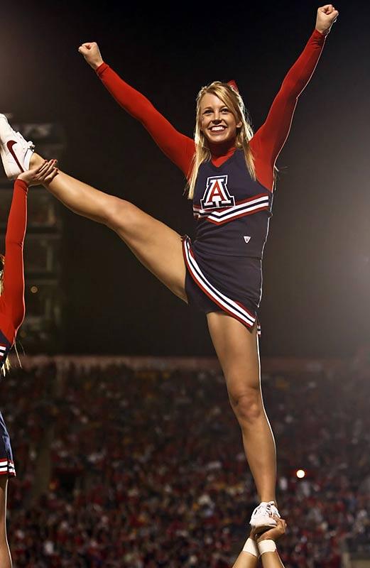 Opinion you university of arizona cheerleader think, that