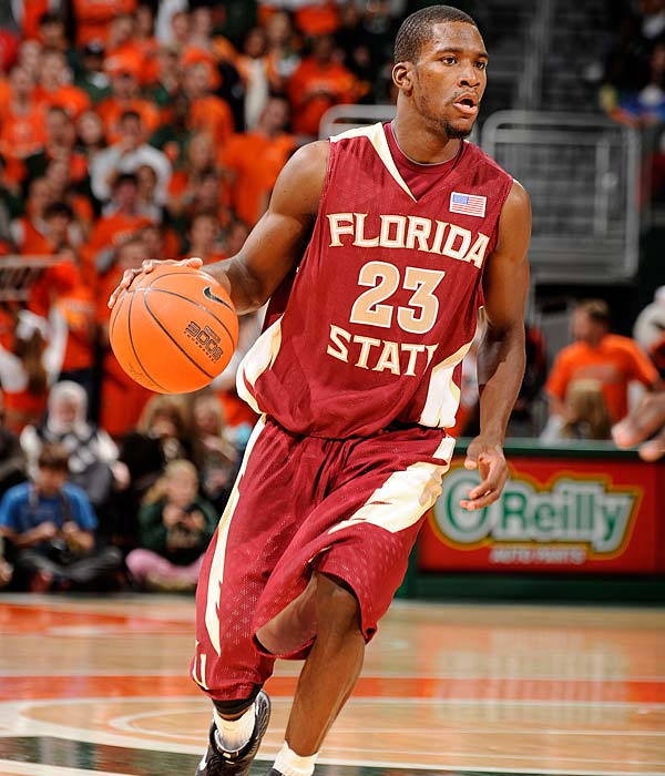 If there's one thing Florida State's done these past few games, it's play ACC spoiler.  Watch out Wake Forest. Toney Douglas (pictured) is averaging 20.3 ppg.
