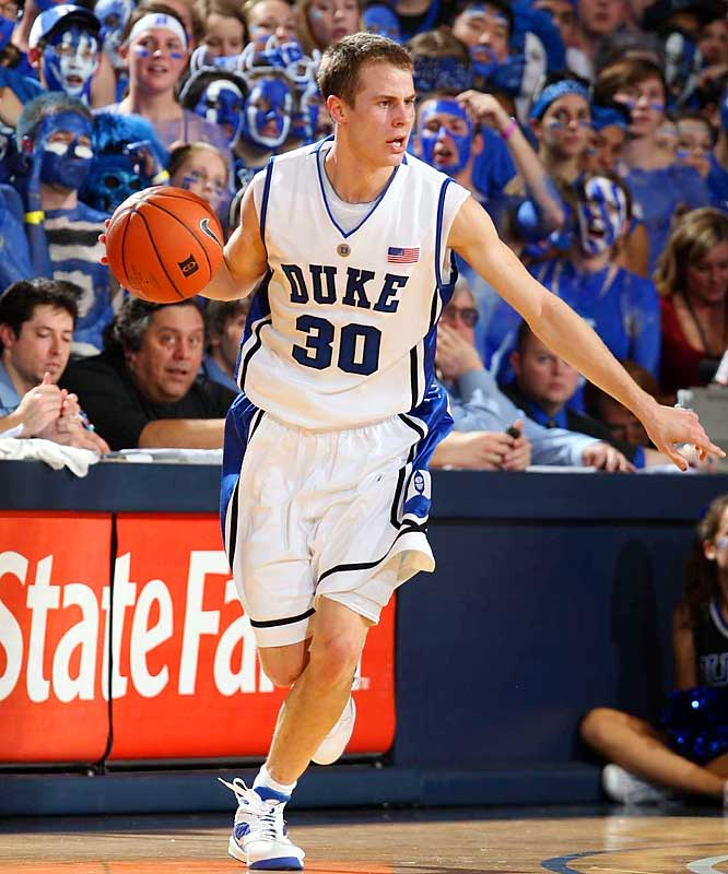 A win could put Wake Forest in second place, behind North Carolina, in the ACC. But something says that Jon Scheyer, pictured, and the Blue Devils might be fired up after an embarrassing loss to Boston College on Sunday.
