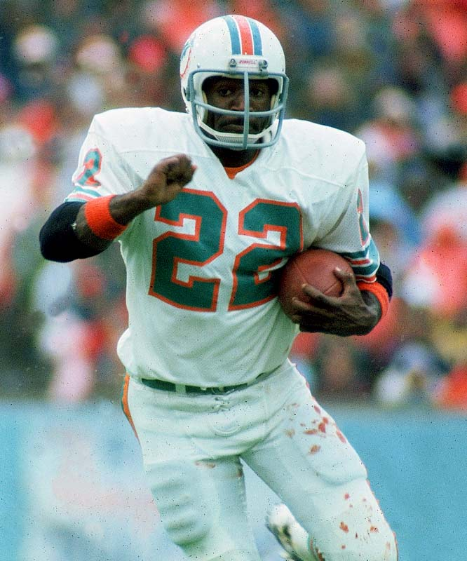 The former Dolphins running back spent three years in jail after a November 1982 conviction for cocaine trafficking.
