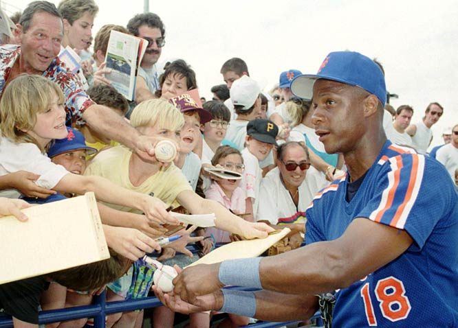 Darryl Strawberry is suspended from baseball for 60 days for using cocaine.