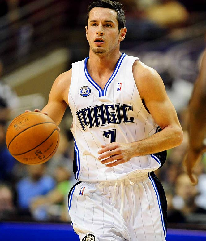 The 2006 first-round pick had a nice shooting stretch in early January, but that was when the Magic were banged up at the wing positions. When Orlando is healthy, Redick is stuck behind free-agent pickup Mickael Pietrus and 2008 first-round pick Courtney Lee. Redick, a regular in the trade-rumor mill, has yet to receive consistent playing time in the NBA.