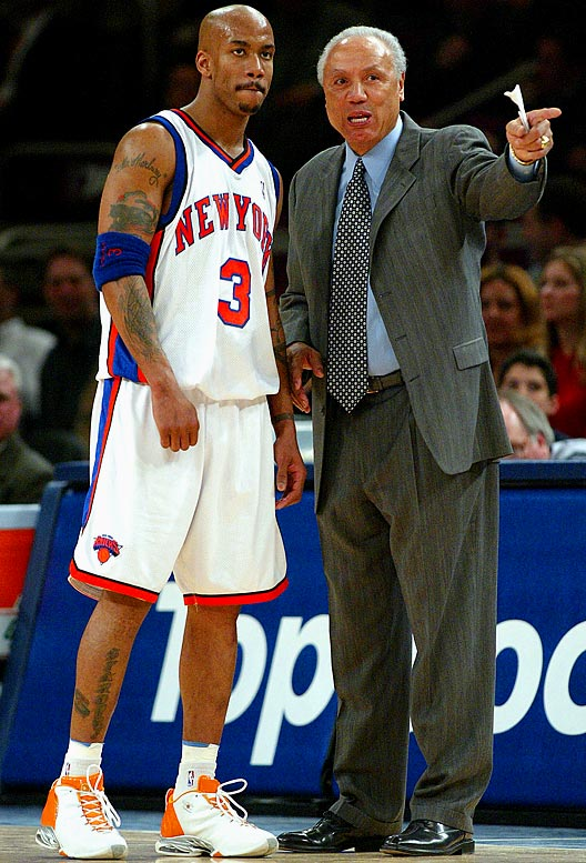 In his first full season in New York, Marbury averages 21.7 points and 8.1 assists while starting all 82 games. Wilkens resigns as coach at midseason and is replaced by Herb Williams, who finishes out the Knicks' 33-49 season.