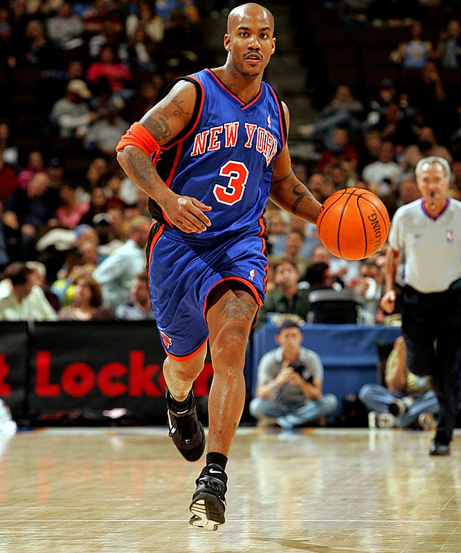 After the trade, Marbury averages 19.8 points and 9.3 rebounds the rest of the 2003-04 season. The Knicks go 25-22 down the stretch and make the playoffs as the East's No. 7 seed, but they lose to the Nets in a first-round sweep. New York hasn't been back in the postseason since.