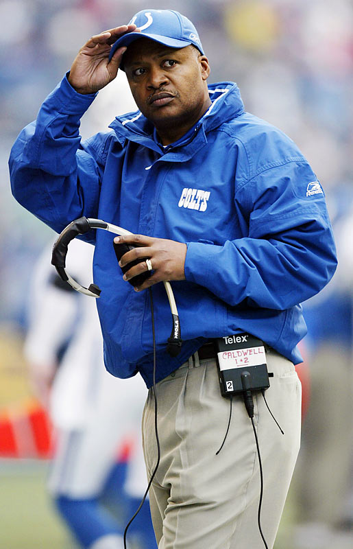 No surprise here. When Tony Dungy retired after the Colts' playoff loss, Caldwell slipped into the head coach's office as was pre-planned by the team last offseason. Caldwell has been with the Colts for seven seasons, the final four as assistant head coach.