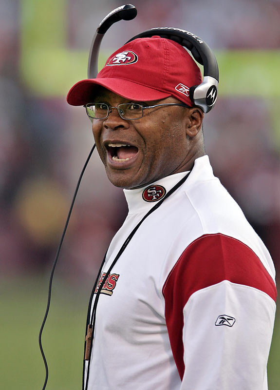 Singletary's passion and intensity as interim coach prompted San Francisco executives to make him the permanent replacement for Mike Nolan, who was fired seven games into last season.