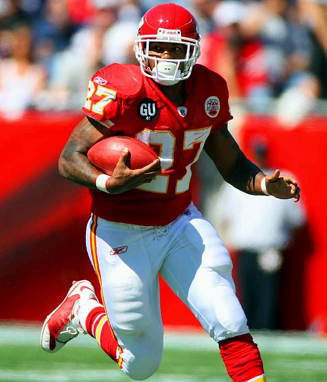 "In early February, Johnson told a Kansas City radio station that he thinks it's time for him and the Chiefs to ""break ties."" After amassing back-to-back 1,700-yard seasons, Johnson has been slowed by injuries for two straight years. Still, rumors have linked him to both the Bears and the Cardinals."