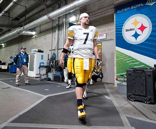 Ben Roethlisberger is ready for action.