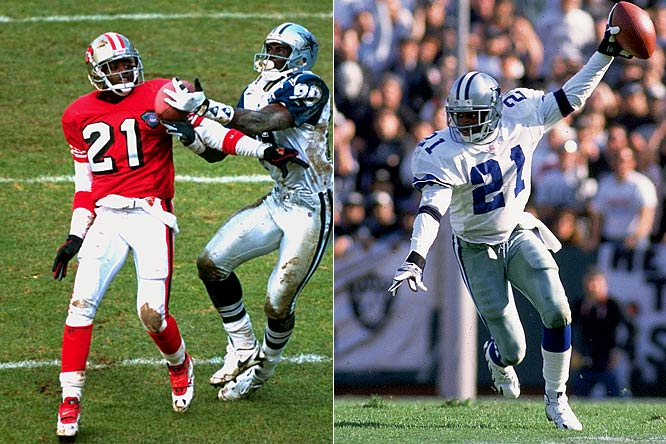 After one of his longer stints in baseball, Sanders signed with the 49ers in 1994, became the NFL Defensive Player of the Year and helped San Francisco win Super Bowl XXIX. The following season the talented cornerback and return man signed with the Cowboys and helped them win Super Bowl XXX. Later in his career, Sanders was a disappointment in Washington and Baltimore, but his achievements in Dallas and San Francisco speak for themselves.