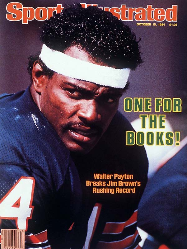 Sports Illustrated marked the occasion by putting the new all-time rushing leader on the cover of the Oct. 15, 1984 issue.