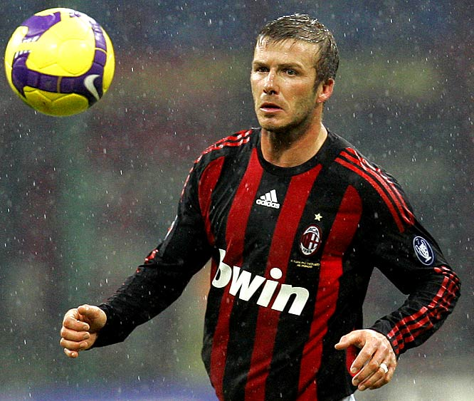 "It looks like the Galaxy and MLS are playing hardball with AC Milan, who want David Beckham to remain in Italy full time. Good for them. Make Milan overpay for the overhyped and overrated ""Golden Balls"" the same way they did a couple years ago."