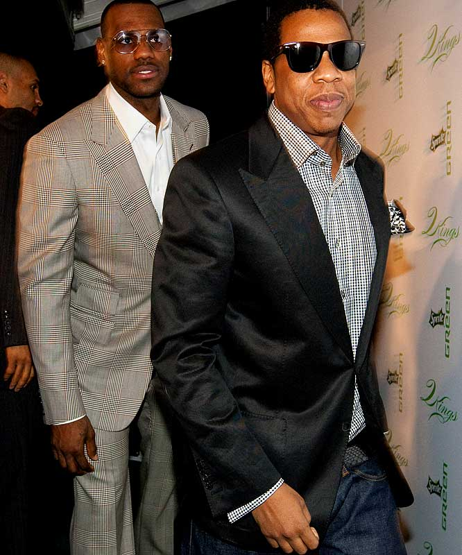 "The best party of All-Star Weekend goes to James and Jay-Z who hosted the Sprite Green Two Kings Dinner. The title sponsor was appropriate considering the amount of money that was under one tented roof on Saturday night as James and Jay-Z were joined by Beyonce, Kobe Bryant, Chris Paul, Jesse Jackson, John Legend, Gabrielle Union and a handful of Fortune 500 CEOs who were looking to align themselves with these movers and shakers. ""Green is the most beautiful color in the world,"" said James as he raised his glass in a champagne toast at the end of the night. ""That's how you create partnerships, with the color green."" Recession? What recession?"