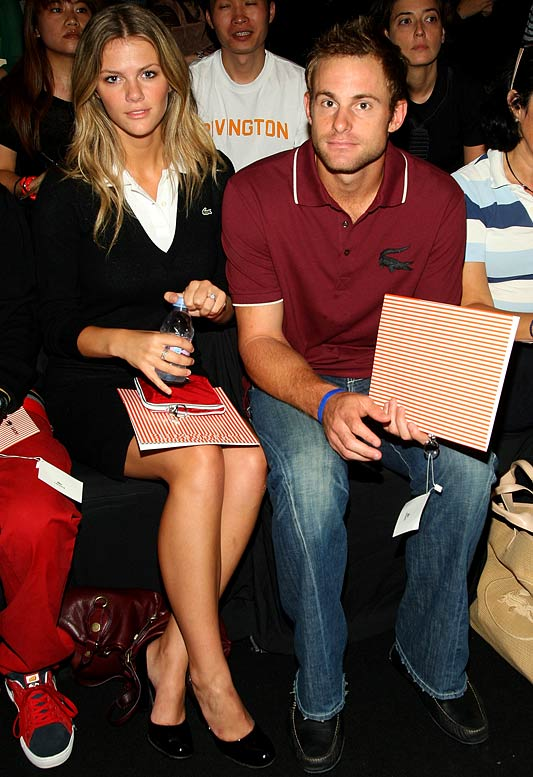 Andy Roddick pulled out of the Duabi Tennis Championhips after Israeli player Shahar Peer was denied a visa by the United Arab Emirates. While admirable, it was probably an easy decision for Roddick, who won his first ATP Tour title of the season Sunday, considering he now gets to spend more time with his fiancé and SI Swimsuit model Brooklyn Decker.