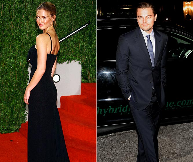 "Arguably the hottest couple in Hollywood, Refaeli and DiCaprio are still shy about going public with their relationship. Despite being together for more than three years, Refaeli and DiCaprio arrived and left the ""Vanity Fair"" party separately and refused to even acknowledge each other during interviews."