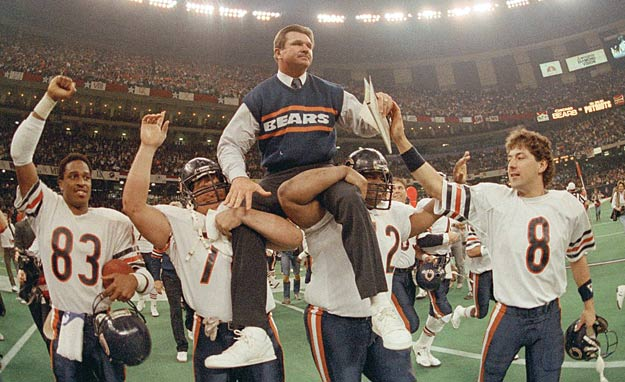 """Less than a month after winning the Super Bowl, the single """"Superbowl Shuffle"""" by the Chicago Bears Shufflin' Crew is certified gold by the RIAA."""