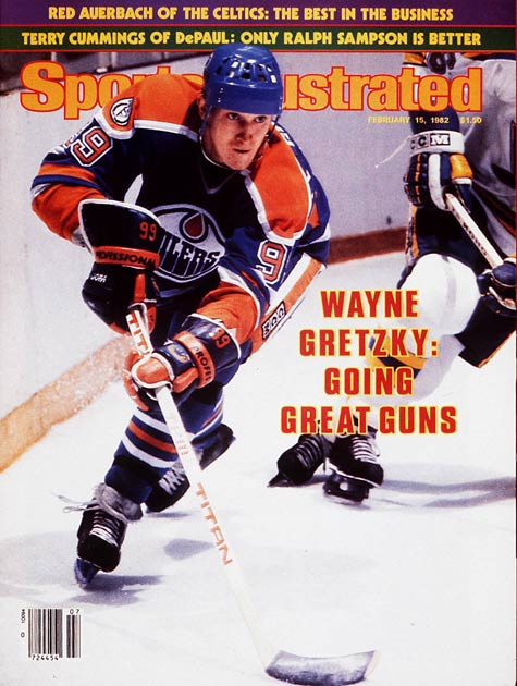 Wayne Gretzky ties an NHL record when he scores his 153rd point of season. Also on this date in 1989, Gretzky records his 45th career hat trick, another NHL record.