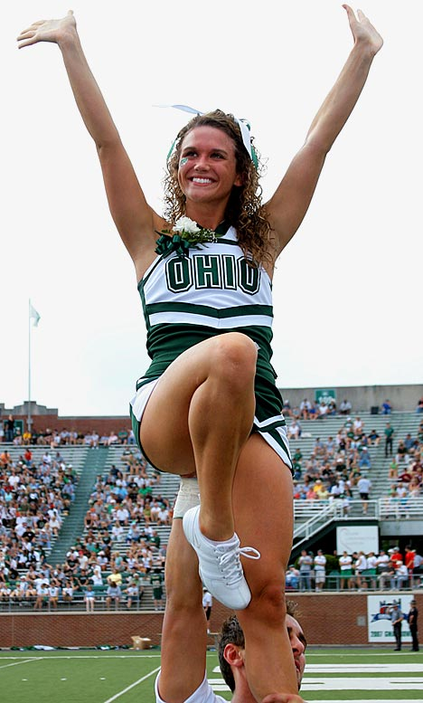Meet Aliecia, an Ohio University senior and proud Bobcats cheerleader. Aliecia, who has an addiction to pizza, once gave the crowd a little more than they bargained for during a game.<br><br>Want to find out more? <br>Click the '20 Questions' link below.