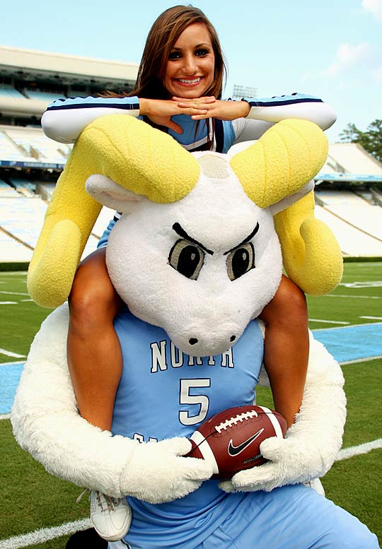 Meet Rachelle, a University of North Carolina senior and proud Tar Heels cheerleader. Rachelle, who has an addiction to funfetti icing, has had a memorable sideline blooper.<br><br>Want to find out more? <br>Click the '20 Questions' link below.