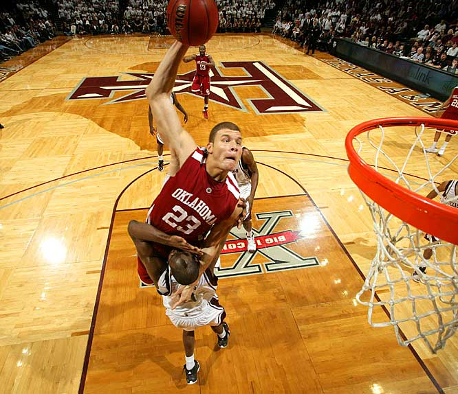 So how is Blake Griffin feeling these days?  Catch him in action as the Sooners take on a Missouri team that's only a game and a half behind them in Big 12 standings.