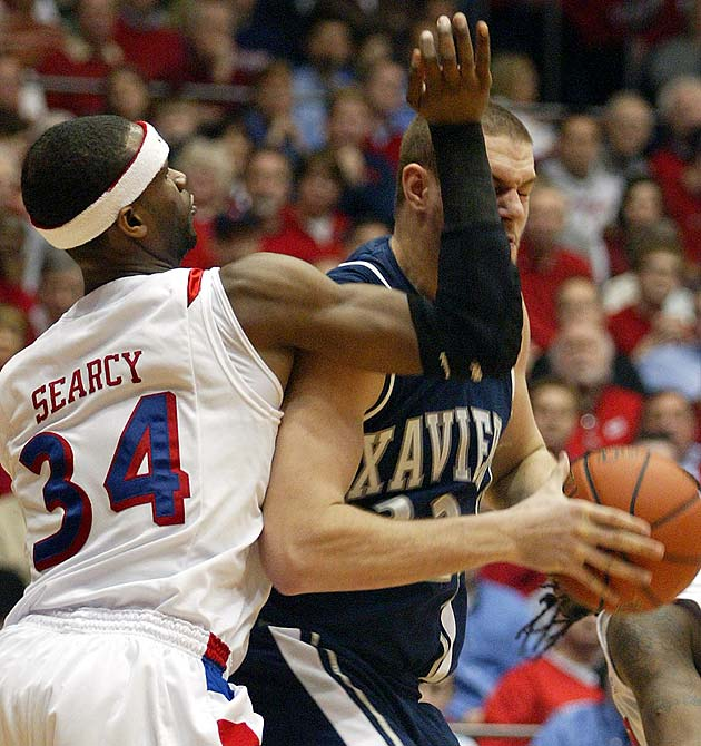 Lots at stake in Cincinnati on Thursday night. Xavier (23-5, 11-3) can all but lock up the Atlantic 10 regular season title with a win over rival Dayton (24-5, 10-4). The Flyers are closing in on their first NCAA berth since 2004 and thumped the Musketeers last month, but they haven't won on Xavier's home court since 1981.