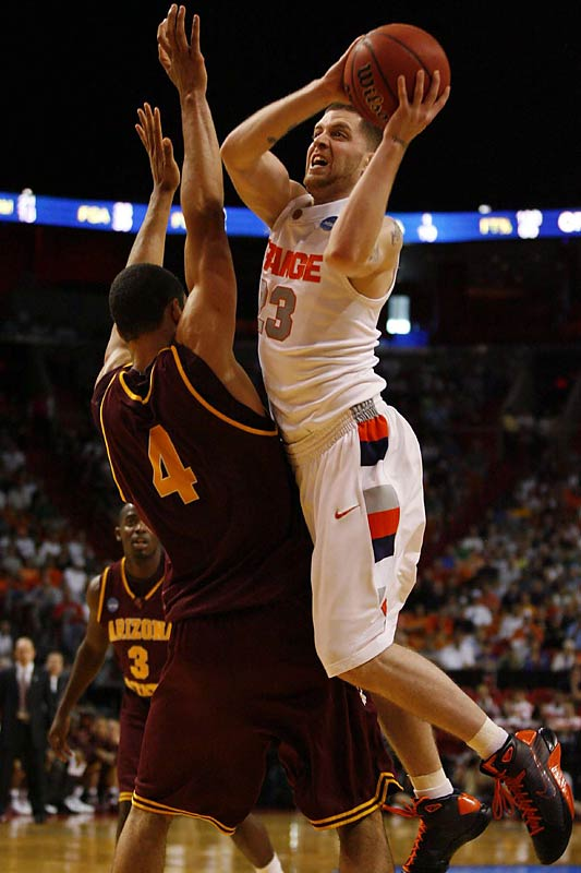Eric Devendorf stepped up just as Arizona State threatened to catch Syracuse.